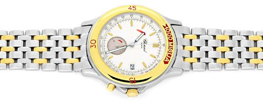 Foto 1, Chopard Mille Miglia Chronograph, Stahl Gold Uhr Topuhr, U1443