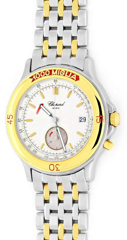 Foto 2, Chopard Mille Miglia Chronograph, Stahl Gold Uhr Topuhr, U1443