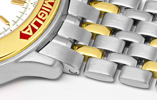 Foto 4, Chopard Mille Miglia Chronograph, Stahl Gold Uhr Topuhr, U1443