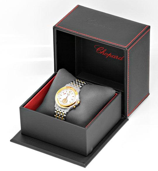 Foto 6, Chopard Mille Miglia Chronograph, Stahl Gold Uhr Topuhr, U1443