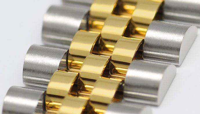 Foto 4, Rolex Datejust Herren Uhr in Stahl Gold, Spitzenzustand, U1460