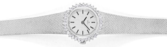 Foto 1, Ebel Damen Armbanduhr, Brillanten Lünette Weissgold 18K, U1469