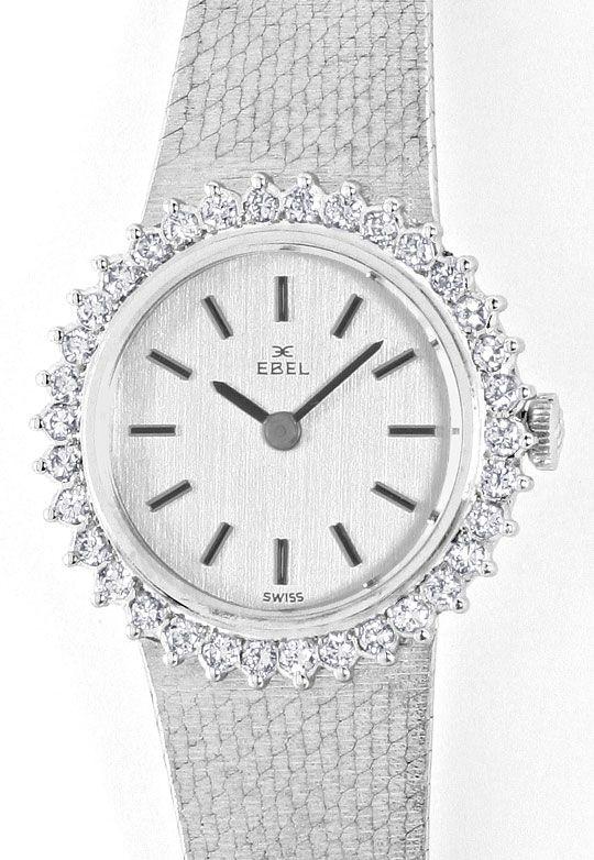 Foto 2, Ebel Damen Armbanduhr, Brillanten Lünette Weissgold 18K, U1469