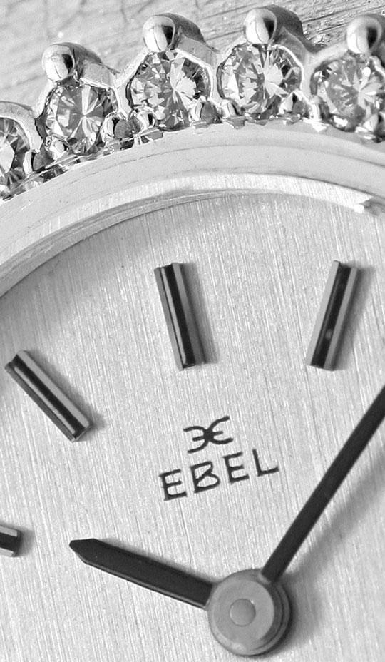 Foto 3, Ebel Damen Armbanduhr, Brillanten Lünette Weissgold 18K, U1469