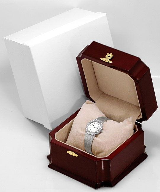 Foto 6, Ebel Damen Armbanduhr, Brillanten Lünette Weissgold 18K, U1469