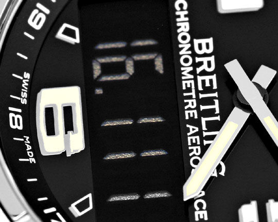 Foto 3, Breitling Aerospace Chronograph Titan Ungetragen Topuhr, U1483