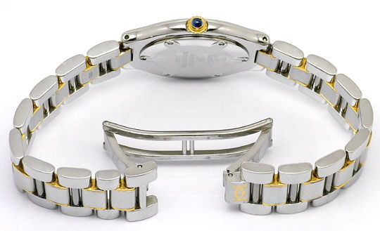 Foto 5, Montre 21 Must de Cartier, Damen Armbanduhr, Stahl Gold, U1488
