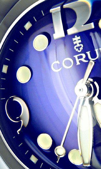 Foto 3, Corum Bubble Königsblau Medium Uhr Edelstahl Ungetragen, U1500