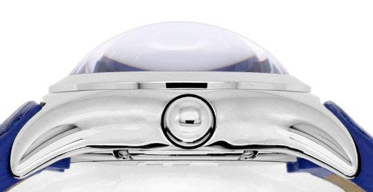 Foto 4, Corum Bubble Königsblau Medium Uhr Edelstahl Ungetragen, U1500