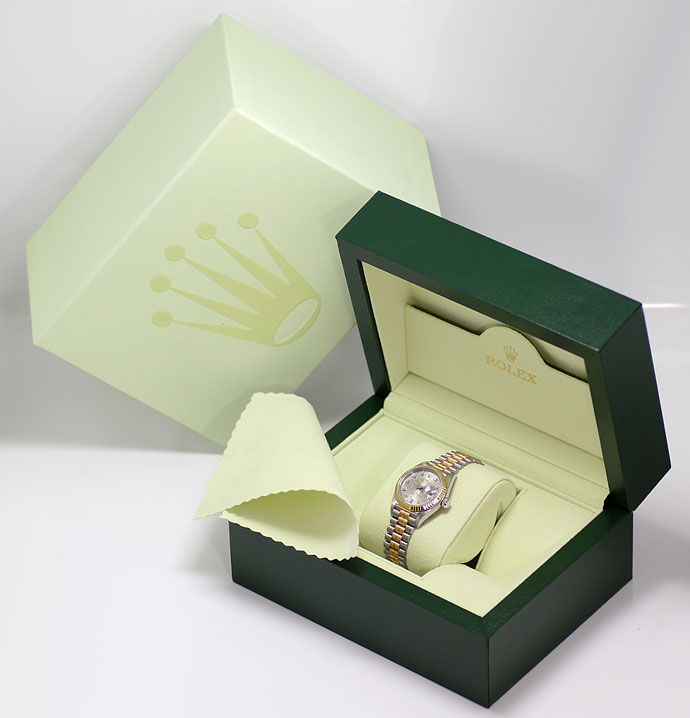Foto 8, Rolex Tridor Lady Datejust Diamant Zifferblatt Neuzust., U1503