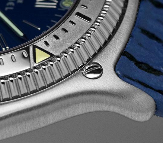 Foto 4, Ebel Disovery Blaues Haifischband Herren Uhr Ungetragen, U1531
