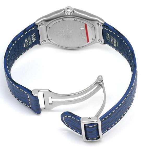 Foto 5, Ebel Disovery Blaues Haifischband Herren Uhr Ungetragen, U1531