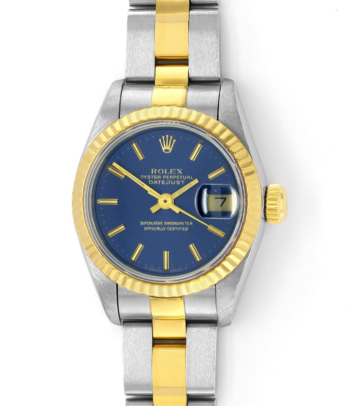 Foto 2 - Rolex Lady Datejust Oyster Uhr in Stahlgold, U1539