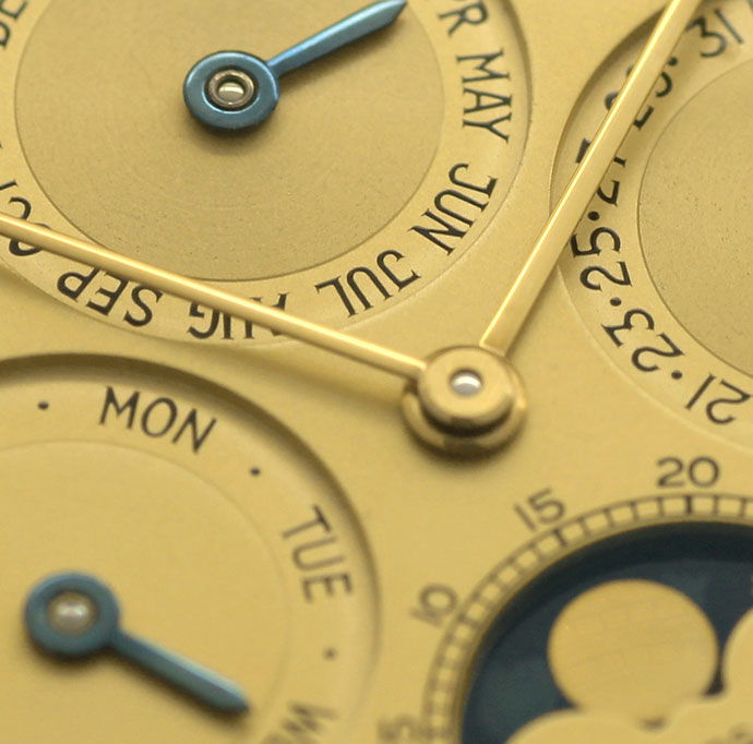 Foto 3, Audemars Piguet Royal Oak Mond ewiger Kalender Gold Uhr, U1541