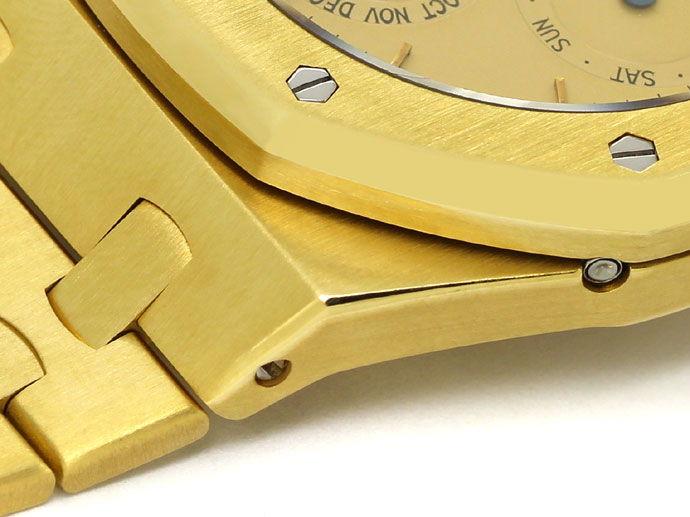 Foto 4, Audemars Piguet Royal Oak Mond ewiger Kalender Gold Uhr, U1541