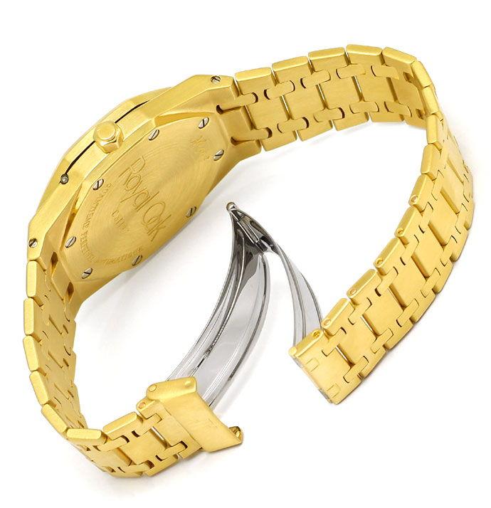 Foto 5, Audemars Piguet Royal Oak Mond ewiger Kalender Gold Uhr, U1541