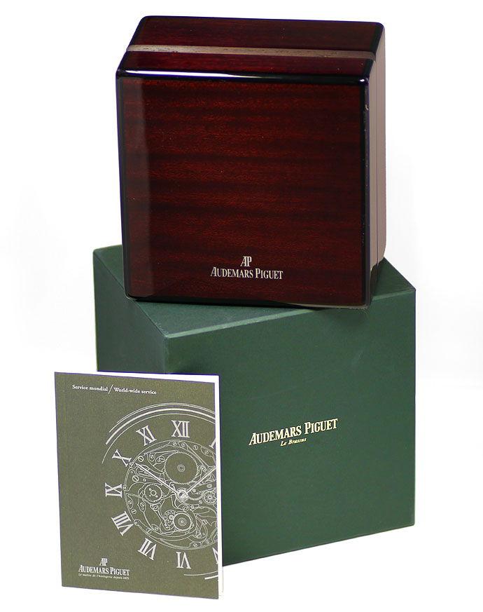 Foto 8, Audemars Piguet Royal Oak Mond ewiger Kalender Gold Uhr, U1541