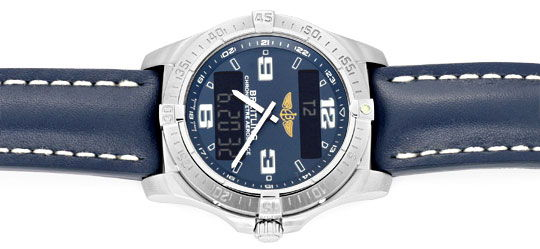 Foto 1, Breitling Aerospace Titan Chronograph Ungetragen Topuhr, U1554