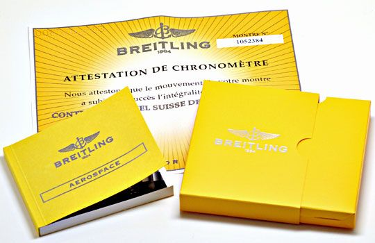 Foto 9, Breitling Aerospace Titan Chronograph Ungetragen Topuhr, U1554
