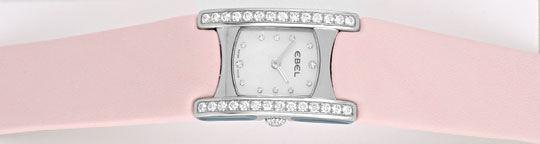 Foto 1, Ebel Beluga Manchette Uhr Diamanten Perlmutt Ungetragen, U1560