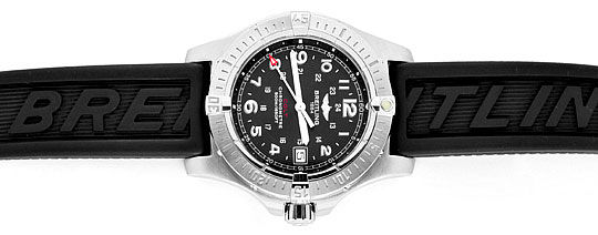 Foto 1, Breitling Colt Edelstahl DiverPro Chronometer Herrenuhr, U1569