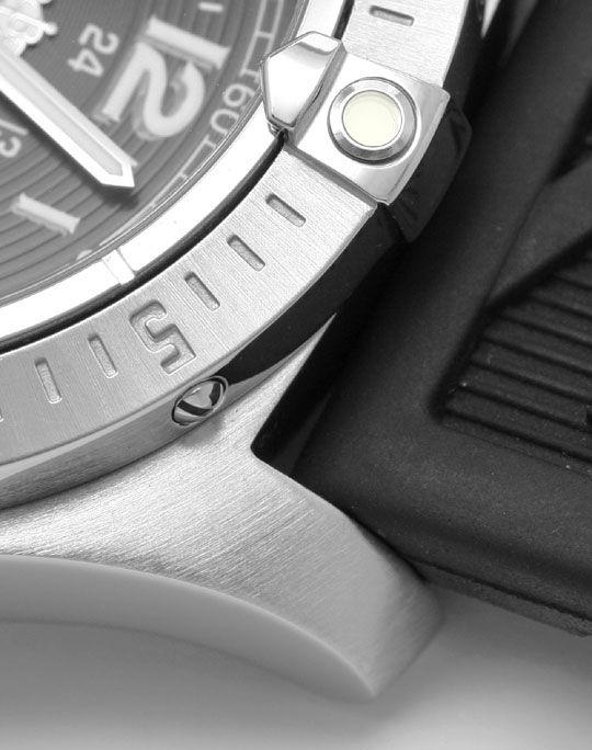 Foto 4, Breitling Colt Edelstahl DiverPro Chronometer Herrenuhr, U1569