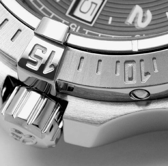 Foto 5, Breitling Colt Edelstahl DiverPro Chronometer Herrenuhr, U1569