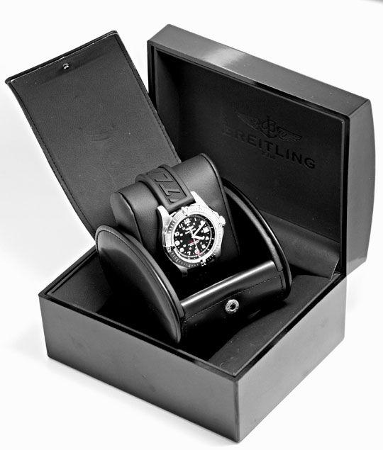 Foto 8, Breitling Colt Edelstahl DiverPro Chronometer Herrenuhr, U1569