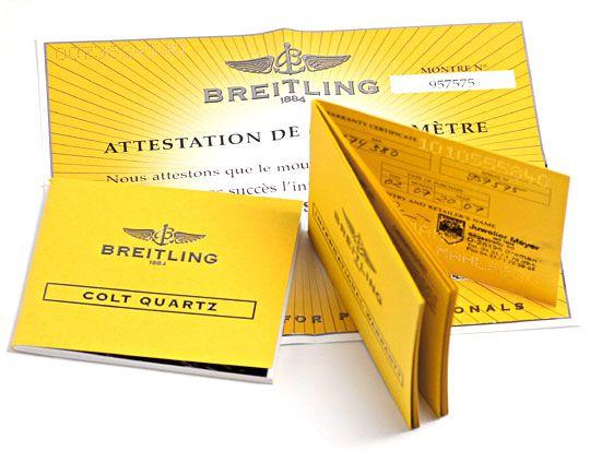 Foto 9, Breitling Colt Edelstahl DiverPro Chronometer Herrenuhr, U1569