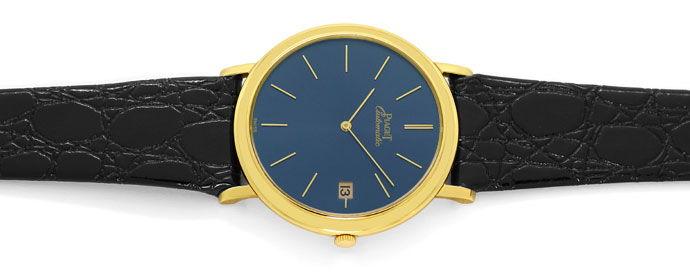 Foto 1, Welt Flachste Automatik Uhr Piaget Gelb Gold Gold Rotor, U1572