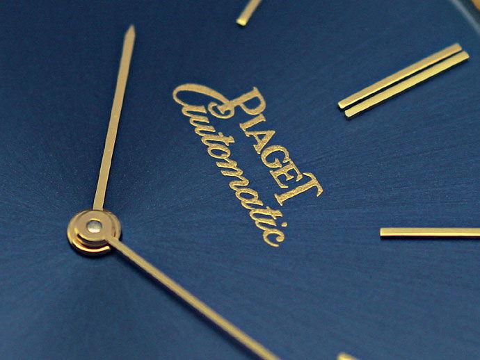 Foto 3, Welt Flachste Automatik Uhr Piaget Gelb Gold Gold Rotor, U1572