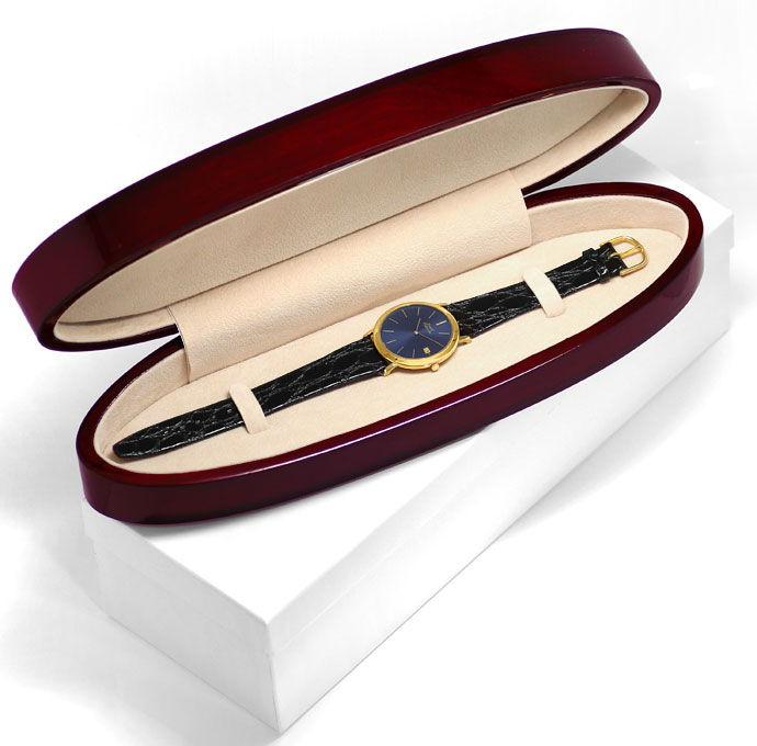 Foto 5, Welt Flachste Automatik Uhr Piaget Gelb Gold Gold Rotor, U1572