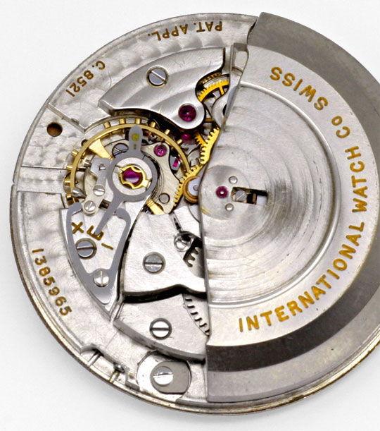 Foto 5, IWC Gold Herren Armbanduhr antik Automatik Datum Topuhr, U1587