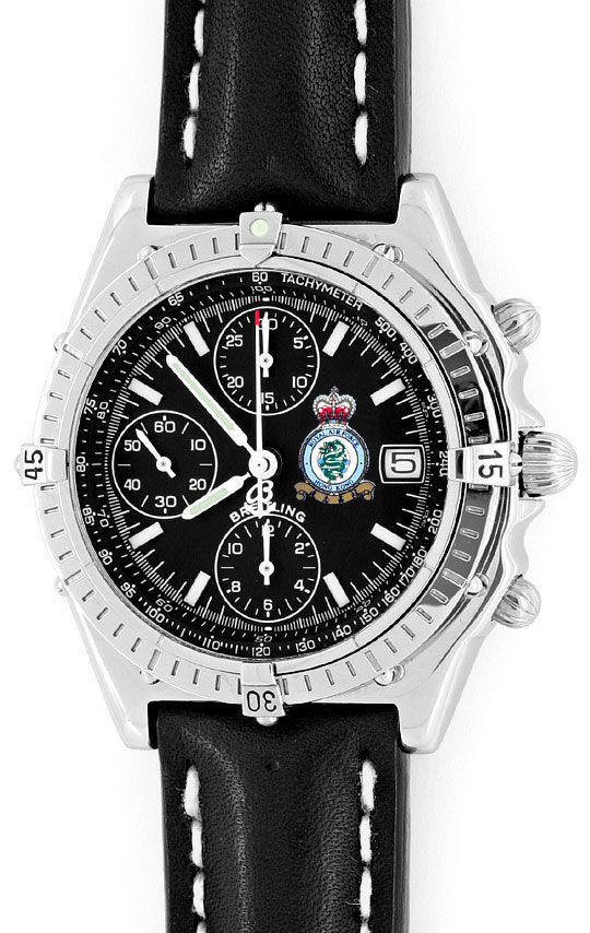 Foto 2, Breitling Windrider Chronomat Royal Air Force Hongkong!, U1618