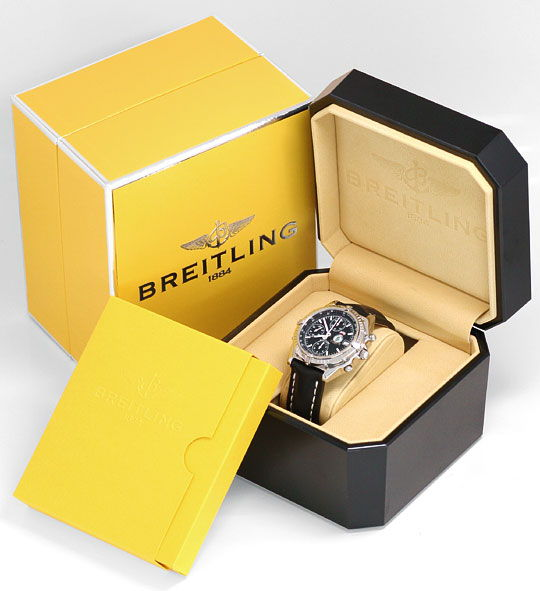Foto 6 - Breitling Windrider Chronomat Royal Air Force Hongkong!, U1618