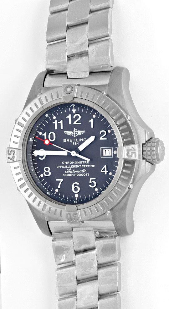 Foto 2, Breitling Aeromarine Avenger Seawolf Profi, Chronometer, U1647