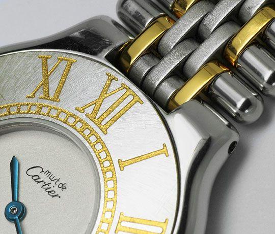 Foto 3, Cartier Montre 21 Must de Cartier Herren Armbanduhr STG, U1652