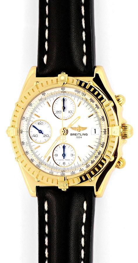 Foto 2, Breitling Windrider Chronomat Gold Limitiert Neuzustand, U1653