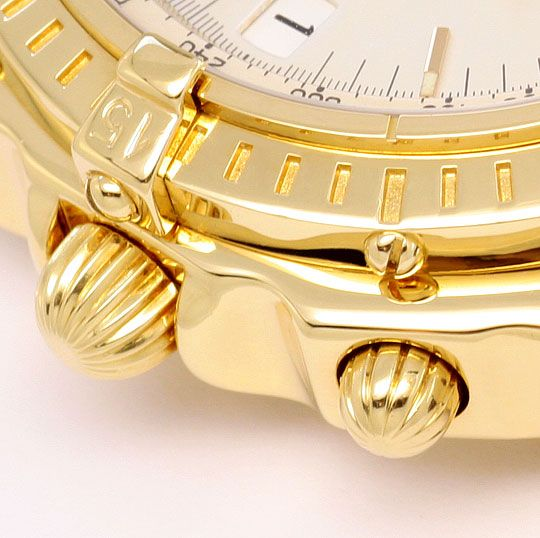 Foto 4, Breitling Windrider Chronomat Gold Limitiert Neuzustand, U1653
