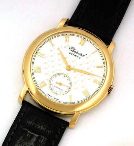 Foto 1, 1.Carreras Chopard Herren Armbanduhr Automatik Gelbgold, U1662