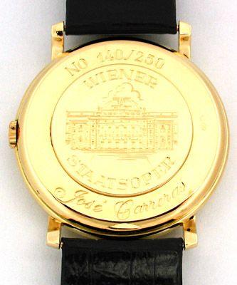 Foto 2, 1.Carreras Chopard Herren Armbanduhr Automatik Gelbgold, U1662