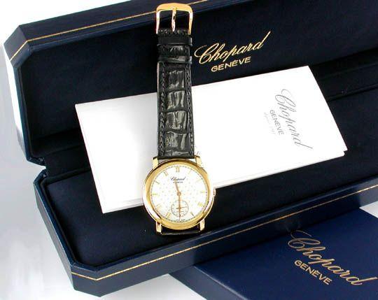 Foto 3, 1.Carreras Chopard Herren Armbanduhr Automatik Gelbgold, U1662