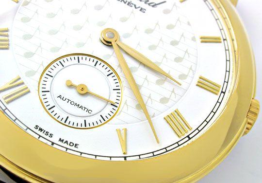 Foto 4, 1.Carreras Chopard Herren Armbanduhr Automatik Gelbgold, U1662