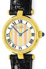 Cartier Vermeil, Vendome Louis Cartier Damen 925 3 Gold