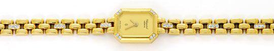 Foto 1, Chopard Classique Femme Diamanten Damenuhr Gelbgold 18K, U1672