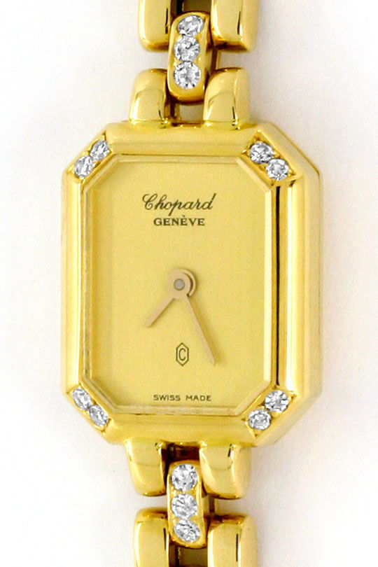 Foto 2, Chopard Classique Femme Diamanten Damenuhr Gelbgold 18K, U1672