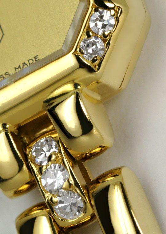 Foto 4, Chopard Classique Femme Diamanten Damenuhr Gelbgold 18K, U1672