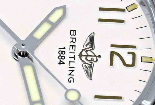 Foto 3, Breitling Colt Automatik Professional Band Stahl Herren, U1673