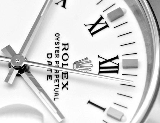 Foto 3, Rolex Date Oyster Perpetual Herrenarmbanduhr Ungetragen, U1677