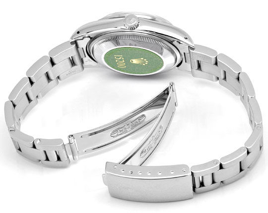 Foto 6, Rolex Date Oyster Perpetual Herrenarmbanduhr Ungetragen, U1677